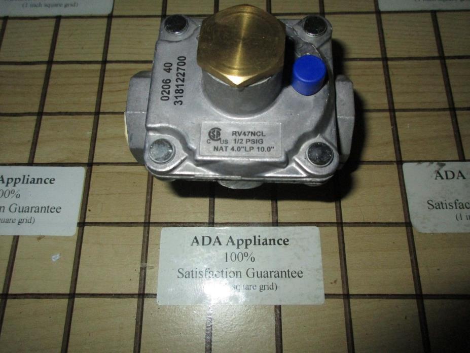 KM / Frigidaire Range Gas Regulator 318122700, 316470719, 501126 SATISF GUAR