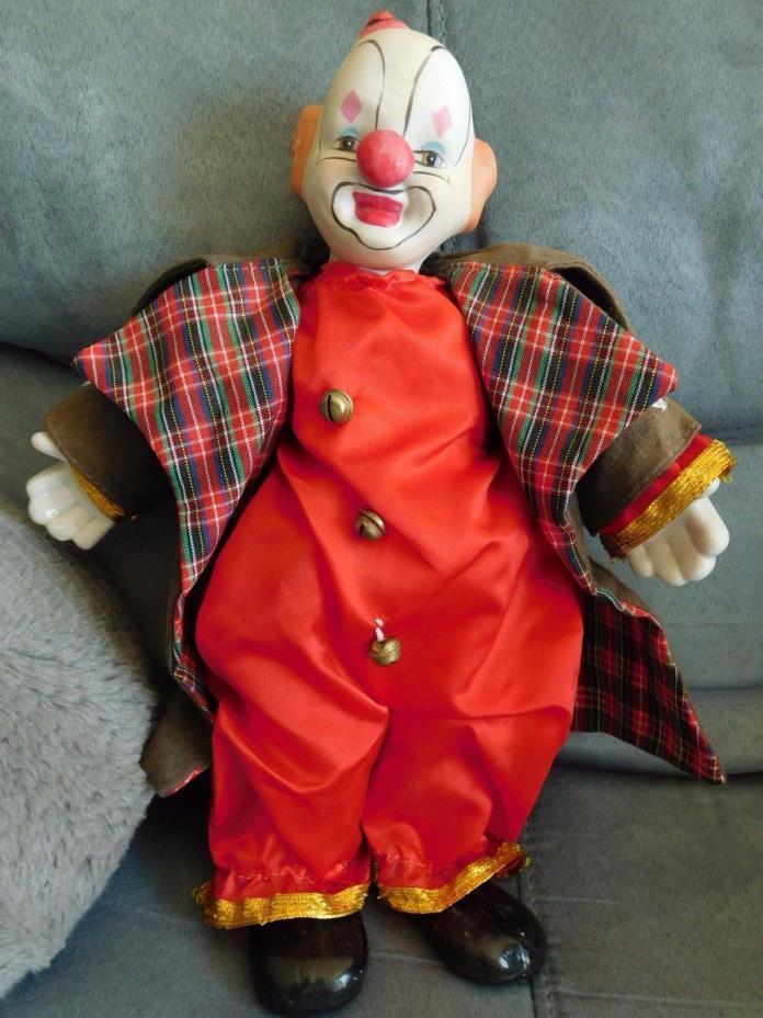 Heritage Dolls, Porcelain Hobo Clown, 12