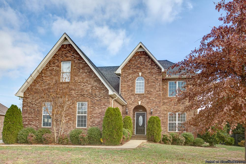 Beautiful 5 Bedroom Home For Sale In Murfreesboro