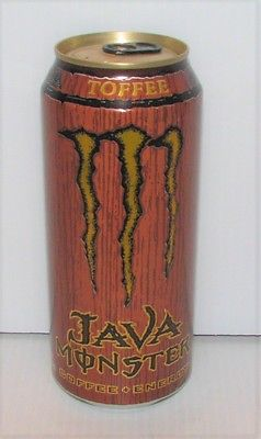 MONSTER ENERGY JAVA COFFEE TOFFEE 15 OZ CAN DISCONTINUED UNOPENED