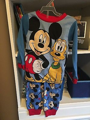 Mickey Mouse 4t pajamas