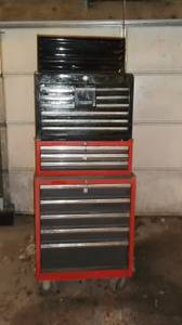 Three set toolbox with keys (14 miles from jainesville)