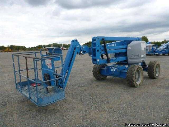 Genie Z45/25 Articulated Boom Lift (Basket lift)