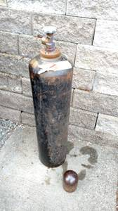 Oxygen Acetylene bottle ( Full) (Federal Way)