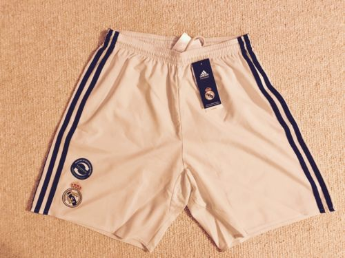 ADIDAS REAL MADRID AUTHENTIC HOME SHORTS