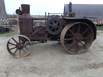 Rumely Oil Pull Tractor Runs Good