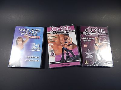 Core Rhythems Dance DVD Sets & Walk Away Pounds DVD