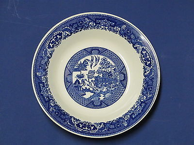 BLUE WILLOW WARE by ROYAL CHINA -  ONE  8 1/4 inch BOWL, nice for Salad