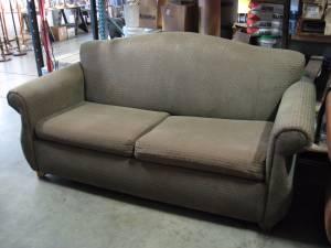 Used Hotel Furniture - Sleeper Love Seat - Sleep Sofa / Couch (Woburn, MA)