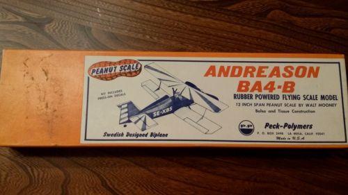 vintage balsa airplane kit