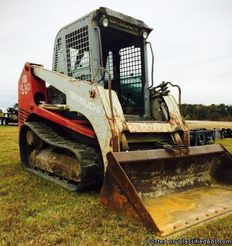 2006 - Takeuchi TL140 Multi Terrain Loader