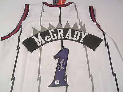 TRACEY MCGRADY - NBA ALL STAR - HAND SIGNED NBA HARDWOOD CLASSIC JERSEY -  COA
