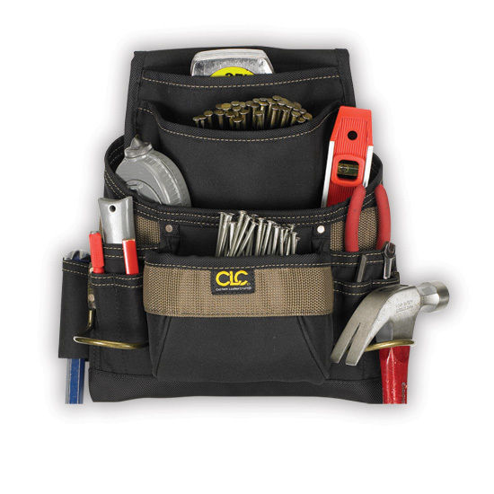 CLC CustomLeathercraft 11 Pocket Nail & Tool Bag 1620 - Free Shipping