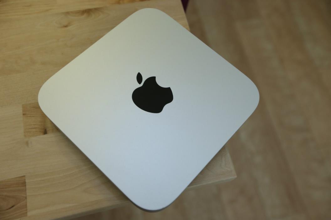 2012 Mac Mini 2.6GHZ QUAD i7 2x1TB SSHD USB 3.O SX El Capitan FAST SHIP