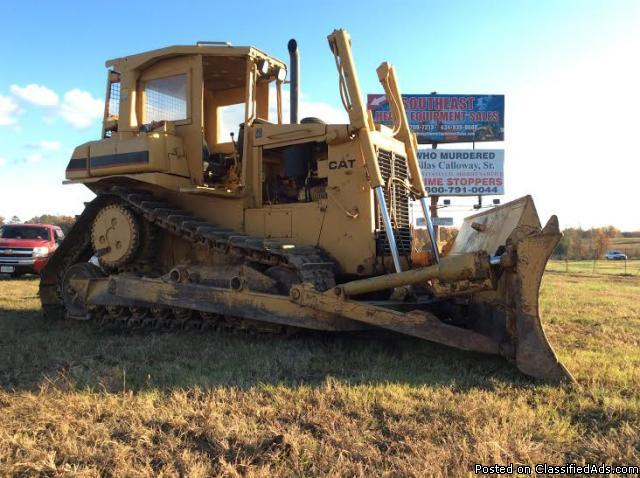 1995 - Caterpillar D6H Series II Crawler Dozer