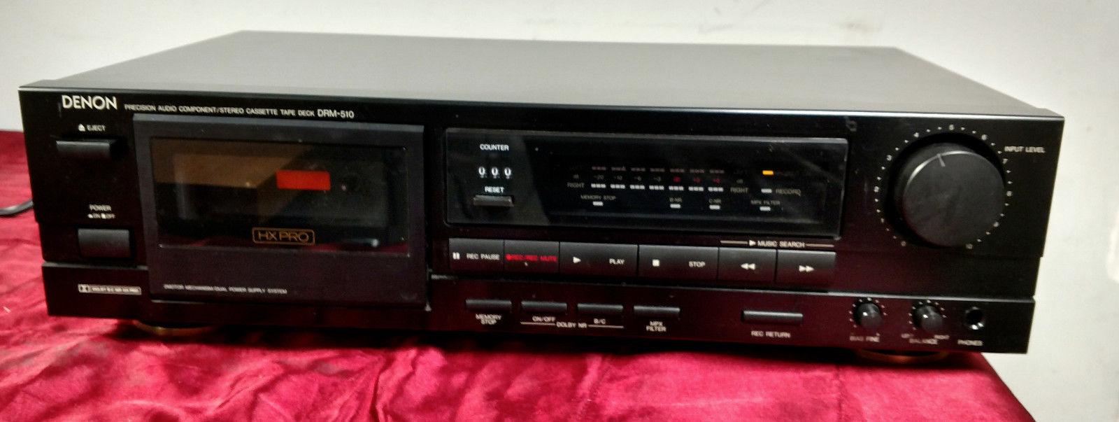 Denon DRM-510 Stereo Cassette Tape Deck