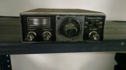 Realistic TRC 452 CB Radio