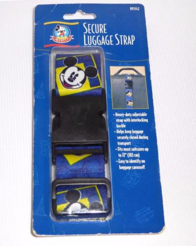Disney Mickey Mouse Luggage Strap Blue New In Package