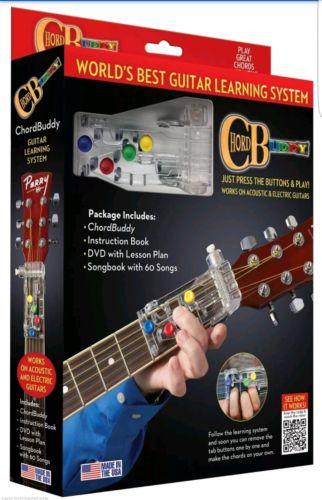 Chordbuddy Guitar Learning System Tool & DVD 139936