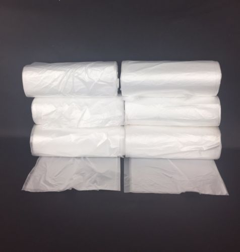 300 Office 6 Mic HDPE Trash Bag Liners 24x33 12-15 Gallon Capacity 6 Rolls of 50