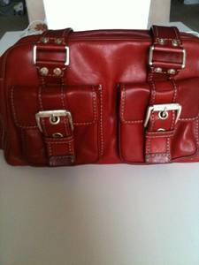 Red Micheal Kors Purse (Woodbridge, VA)
