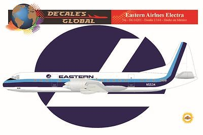 1/144 SCALE DECALS EASTERN ELECTRA