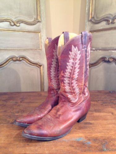 Vintage Nocona Cowboy Campus Engineering Riding Boots Mens Size  11.5