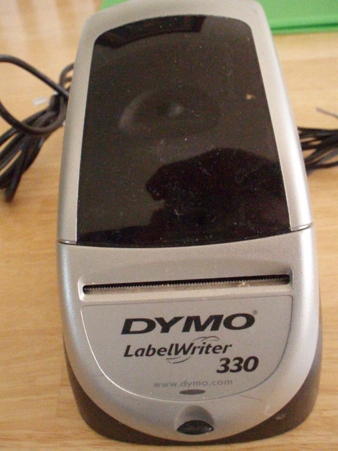 Dymo 330 address label thermal printer -includes adapter, USB cord, disc