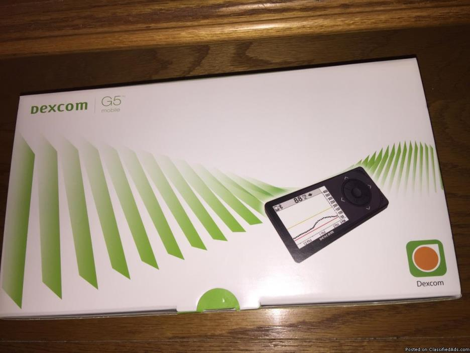 New Dexcom G5 Mobile Receiver Kit