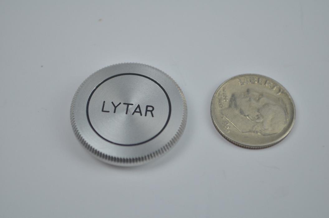 Vintage LYTAR camera lens cap