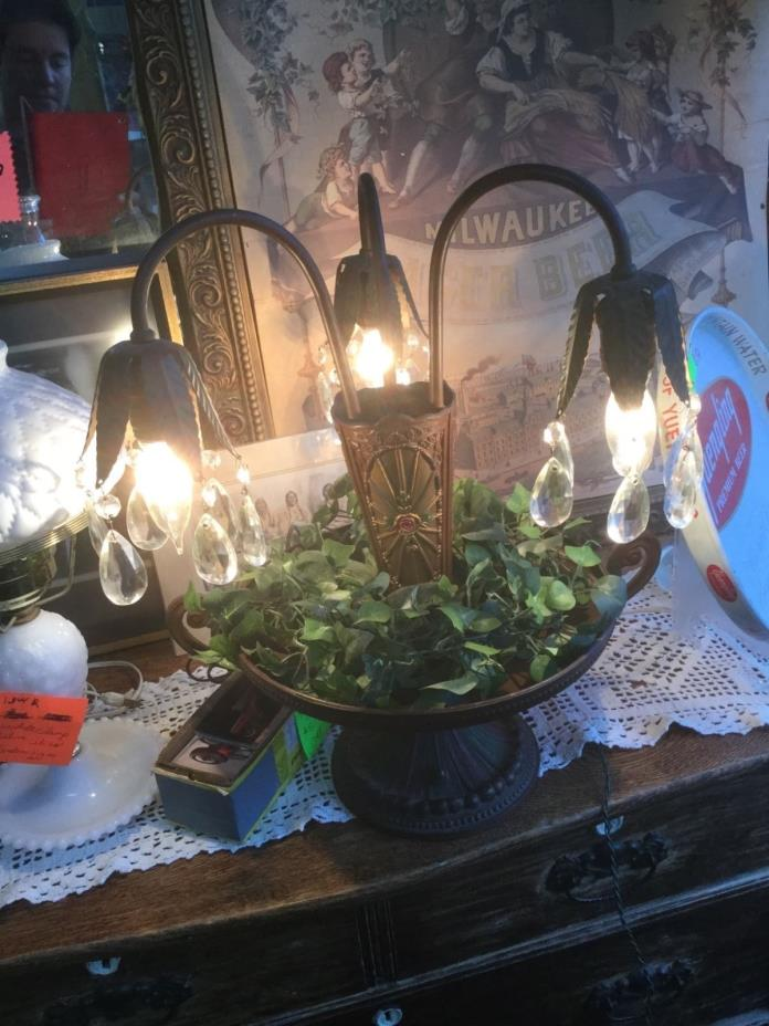 Crystal Candelabra Lamp For Sale Classifieds