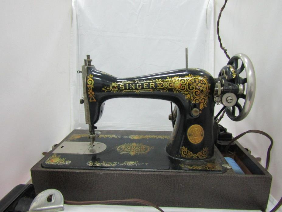 Vintage Singer Sewing Machine With Westinghouse Motor FOR REPAIR