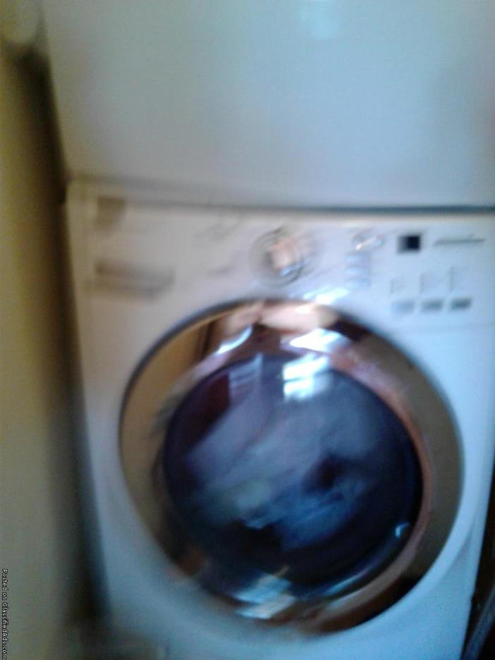 Front load washer and dryer Maytag