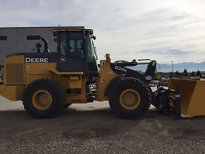 2016 John Deere 624K Wheel Loaders