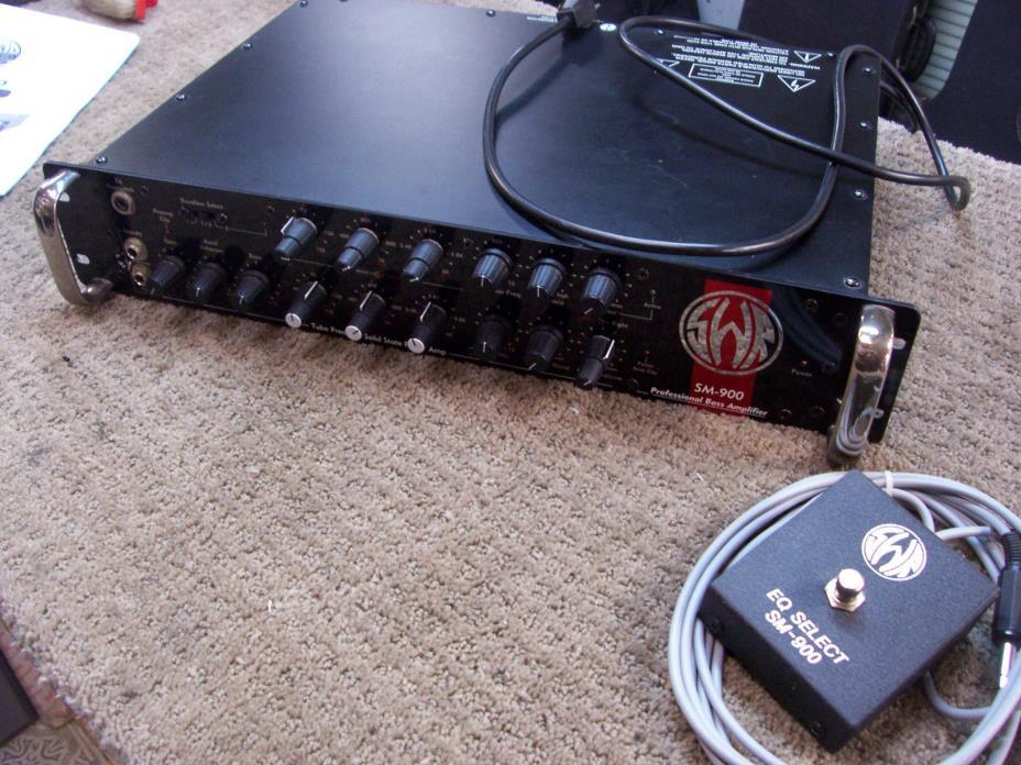 SWR SWM 900 Bass Amplifier