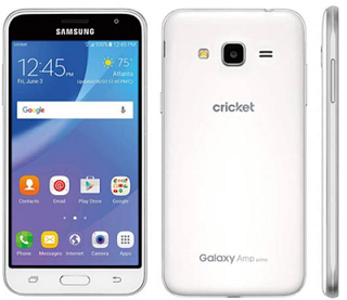 Get the Samsung Galaxy Amp Prime only at Cricket