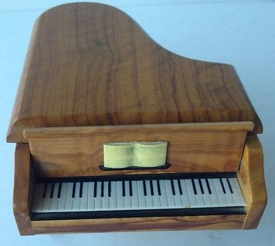 Reuge wood Swiss Musical Movement Fur Elise music box