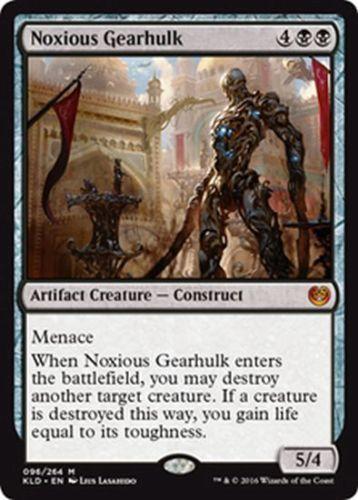 Noxious Gearhulk MTG Kaladesh Mythic Creature NM/M