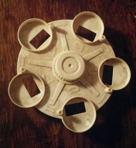 spinning wheel part for space station shooter toy 1978 TOMY