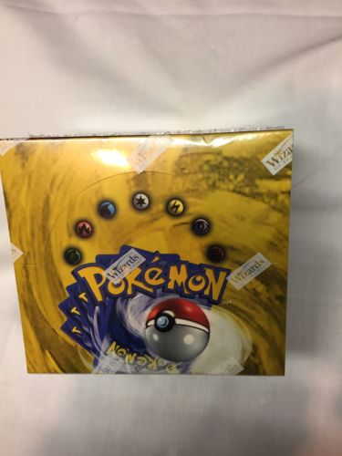 Woc Pokémon 36 Pk Base Unlimited Booster Box Not 1 St Ed
