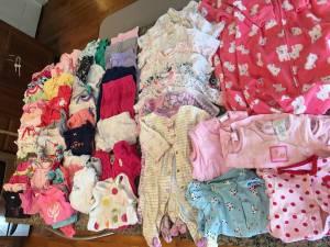 Baby girl clothes (Ogdensburg)