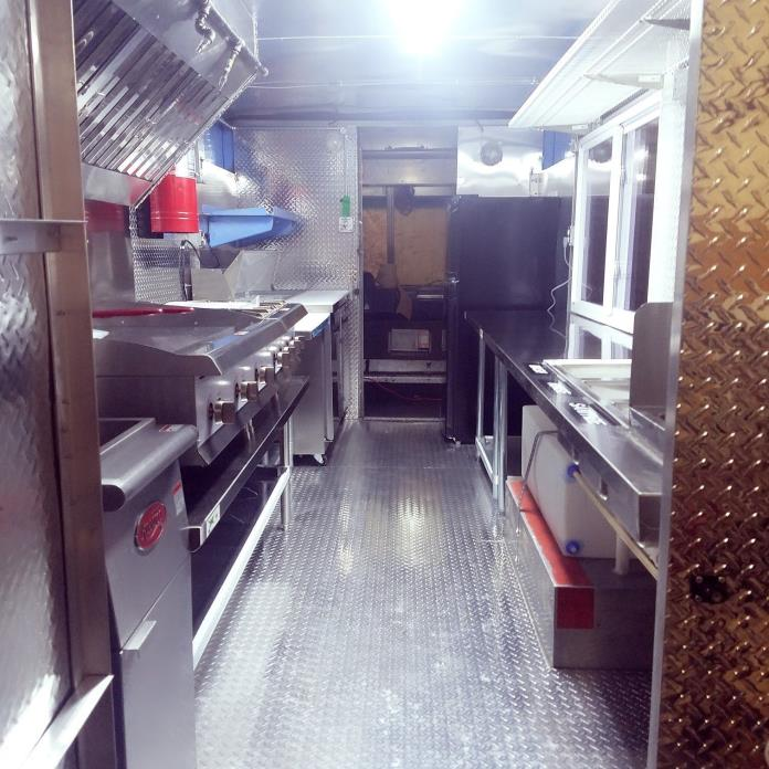 Food Truck Brand New Kitchen READY TO GO( 571-274-0611 )