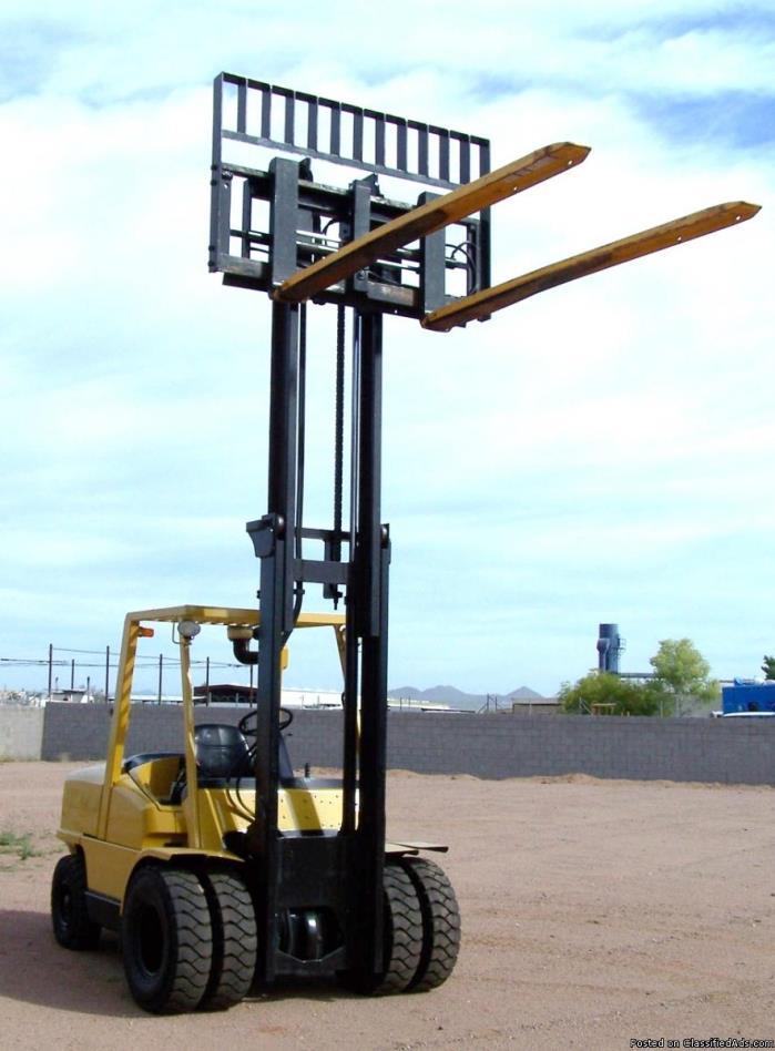 2006 Hyster Fork Lift 10 K Capacity