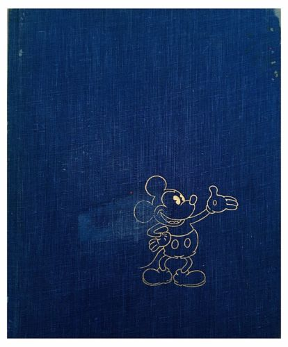 COLOR ILLUSTRATED The Art Of Walt Disney 1975 With Fold Out Panels FREE SHIPPING