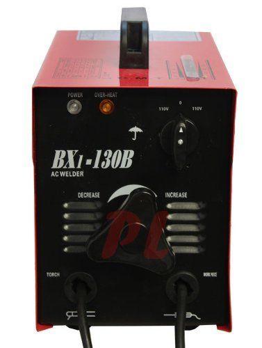 NEW 130AMP 110V 130 AMP ARC WELDING MACHINE WELDER ACCESSORIES