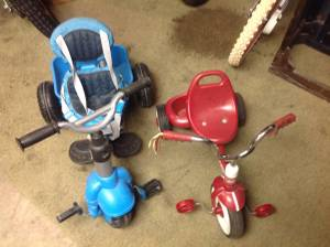 Sweet tricycles