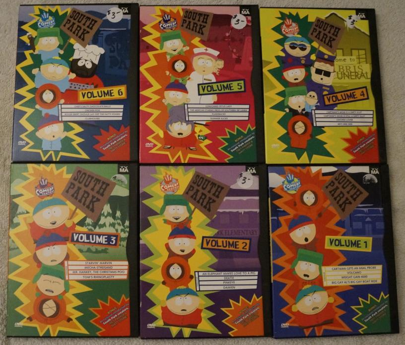 South Park, original DVD collection