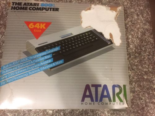 ATARI 800XL - Console, manuals, AS IS !