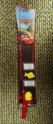 Disney Pixar CARS~Fishing Rod & Reel Combo NEW ~My 1st fishing rod SHAKESPEARE