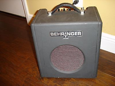Thunderbird Bx108 guitar bass keys amp Behringer